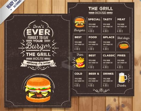 hot hot restaurant menu top 30 free restaurant menu psd templates in 2018 colorlib