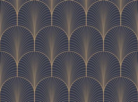 V51 Wallpaper Sticker Motif Vintage Brown vintage blue and brown seamless deco wallpaper