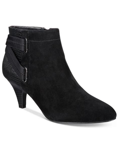 macy s boots womens alfani s vandela ankle booties only at macy s