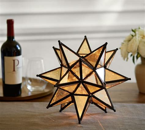 moravian star light set moravian ambient light pottery barn