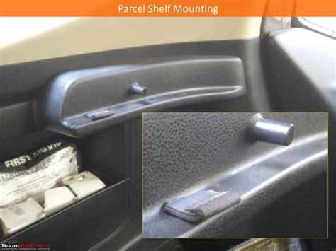 Honda Jazz Parcel Shelf by Honda Jazz Diy Reducing Rattles And Custom Lighting For