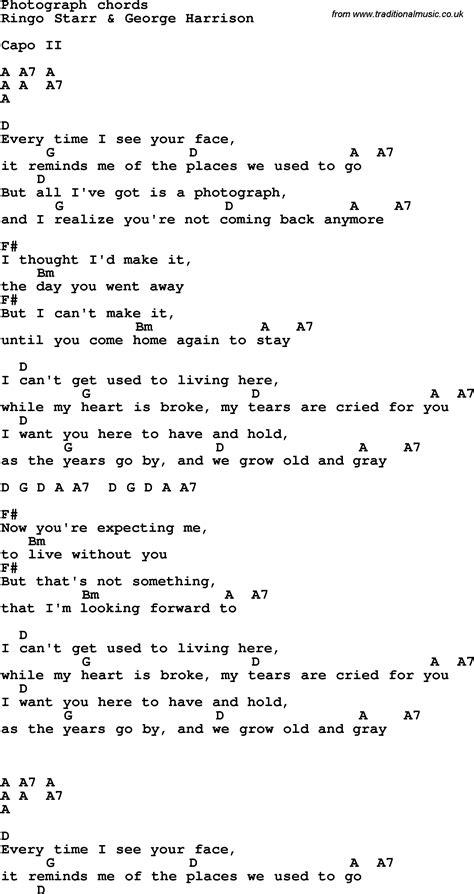 guitar tutorial of photograph lyrics of photograph officialannakendrick com