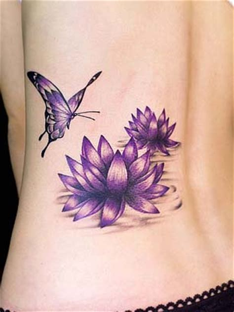 imagenes de tatuajes de flor de loto tatuaje flor de loto mariposa