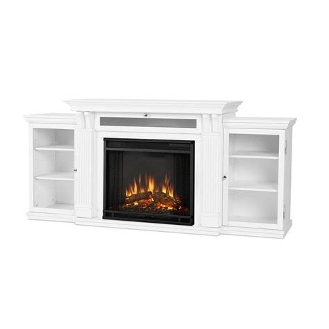 entertainment center with electric fireplace real calie 67 in entertainment center electric