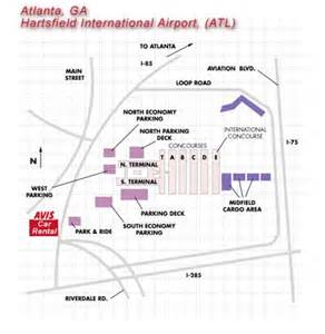 Car Rental Places At The Atlanta Airport Atlanta Hartsfield Jackson Intl Airport Atl Car Rentals Avis