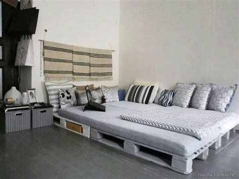 home design grey theme large sized pallet bed ideas with cool grey themed duvet