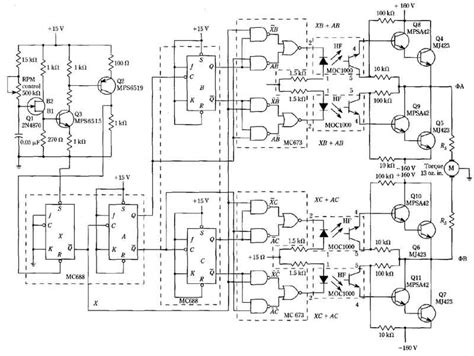 permanent split capacitor vs split phase logic circuit speed controller for a permanent capacitor split phase motor
