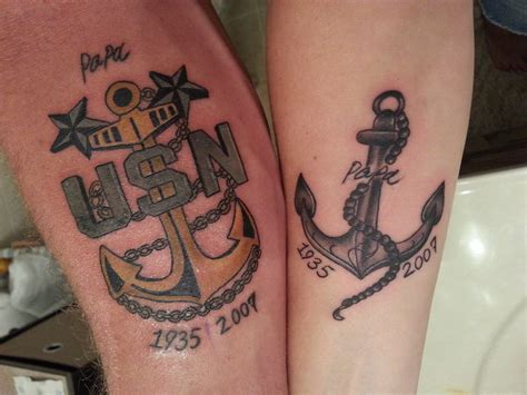 papa tattoo anchor for papa by blossom151 on deviantart