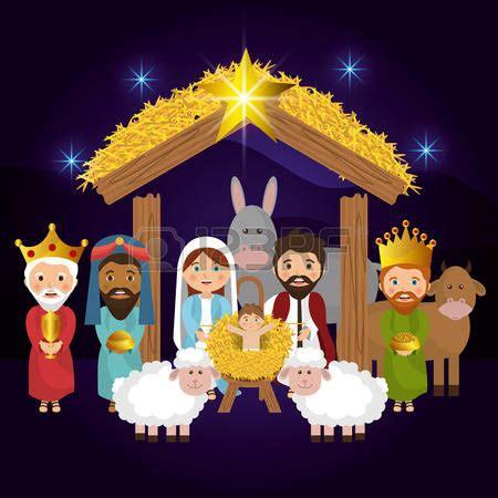 imagenes de nacimiento de jesus animadas nacimiento dibujos animados feliz navidad ilustraci 243 n