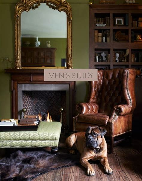 guy home decor masculine study fireplaces aesthetics and tables