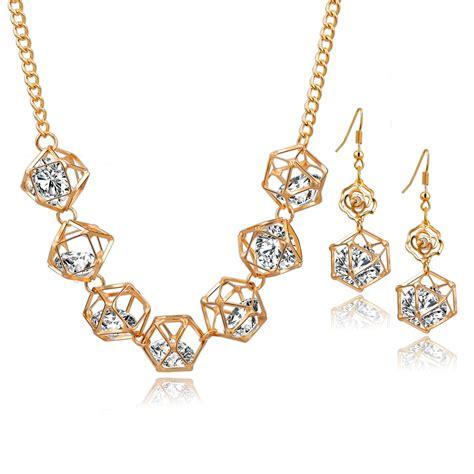 aliexpress buy szelam gold color jewelry