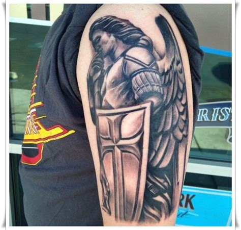 st michael tattoos 30 st michael design ideas