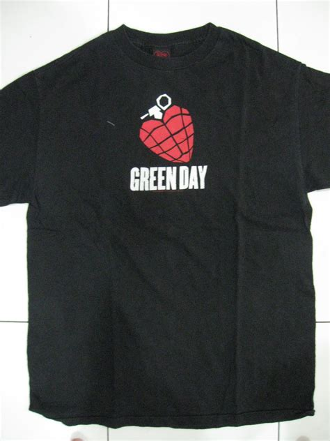 T Shirt Kaos Green Day the rock shirts store kaos asikkk juga