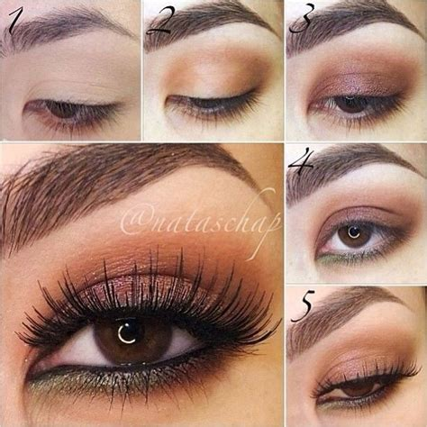 tutorial makeup natural for party step by step eye makeup pics my collection copper