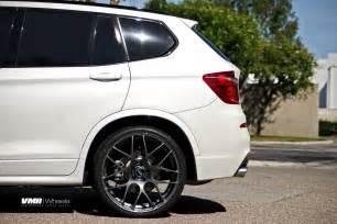 vmr wheels v710 gunmetal 22 quot on white x3 s 2014