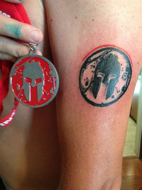 spartan race tattoo 35 best images about spartan race on