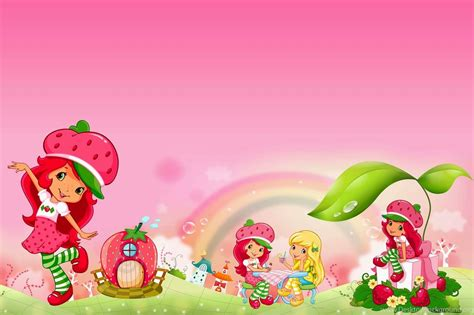 strawberry shortcake background  background check