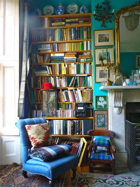 bookcase with reading nook decor design review british bookcase in colorful library