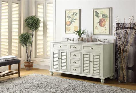 62 sink bathroom vanity adelina 60 inch antique white sink bathroom vanity