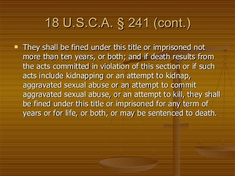 title 18 u s c section 242 ch 7 other crimes against persons