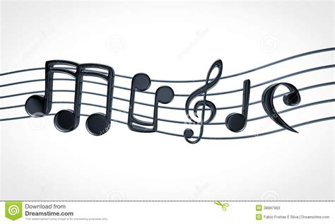 image music text music notes stock illustration image 38997963