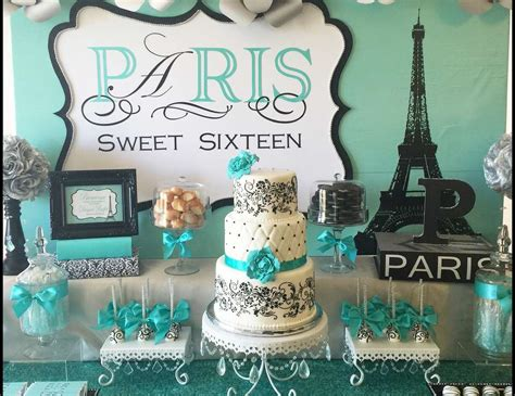 theme names for sweet 16 paris birthday quot paris sweet sixteen quot catch my party