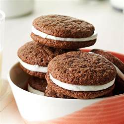 Backyard Chicken Care Cream Filled Chocolate Cookies Recipe Taste Of Home