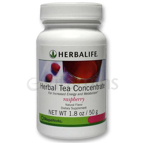 Herbalife Detox Tea by Herbalife Herbal Tea Concentrate Raspberry 1 8 Oz 50