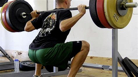 Top Squat Bar by Back Squat Technique How To Hold The Barbell Stack