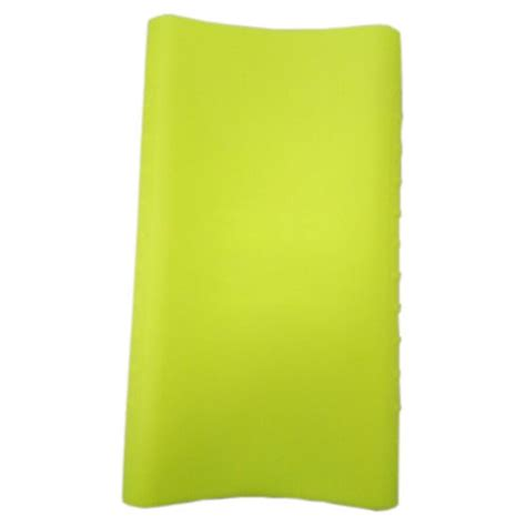 Silicone Cover For Xiaomi Pow 10000mah 2nd Generation Oem Biru silicone cover for xiaomi power bank 10000mah 2nd generation oem green
