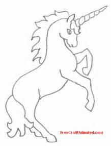 unicorn template free artwork unicorn rearing