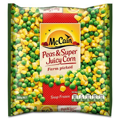 Peas & Super Juicy Corn 500g   Frozen food, vegetables