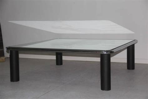 Large Mirrored Coffee Table Large Coffee Table Mirrored Mario Bellini B B 1970 For Sale At 1stdibs
