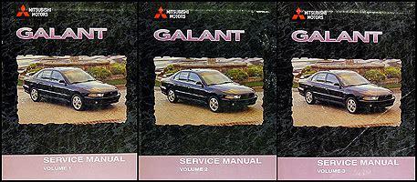 manual repair free 1999 mitsubishi galant on board diagnostic system 1999 2000 mitsubishi galant repair shop manual set original