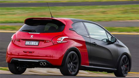 peugeot 208 gti 30th anniversary 2016 peugeot 208 gti 30th anniversary review road test