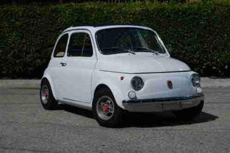 fiat 500 fast and 1970 fresh restoration heavily