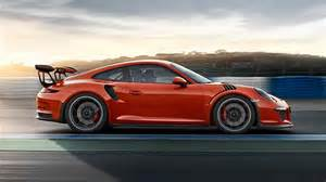 Porsche 911 Rs Porsche 911 Gt3 Rs Revealed In India