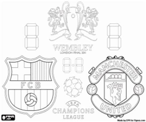football or soccer chionships coloring pages
