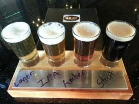 folsom tap house flight of beers picture of folsom tap house folsom tripadvisor