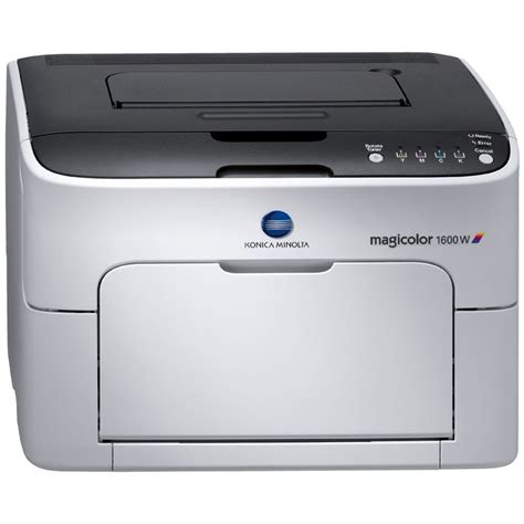 Printer Konica Minolta konica minolta magicolor 1600w desktop laser printer copierguide