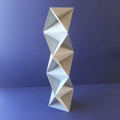 David Mitchell Origami - david mitchell s origami heaven macromodular sculptures