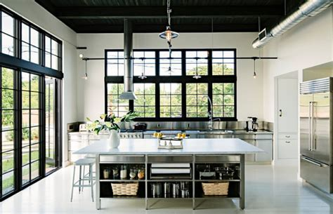 Belmont Black Kitchen Island by Key Traits Of Industrial Interior Design