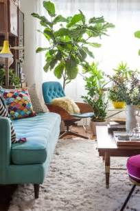 Living Room Plants by 10 Wonderful Rooms With Urban Jungle Home Design And