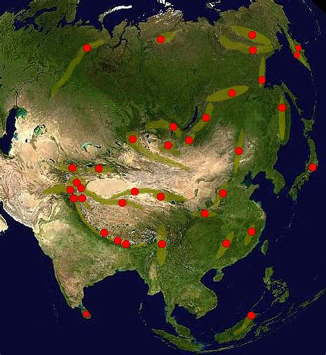 Asiat Gebirge by Gebirge Der Welt Asien