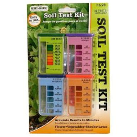Home Depot Test by Ferry Morse 40 Test Soil Test Kit 920 The Home Depot