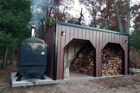 warm   winter   outdoor wood boiler