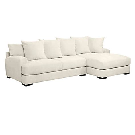 z gallerie stella sofa stella sectional with chaise z gallerie