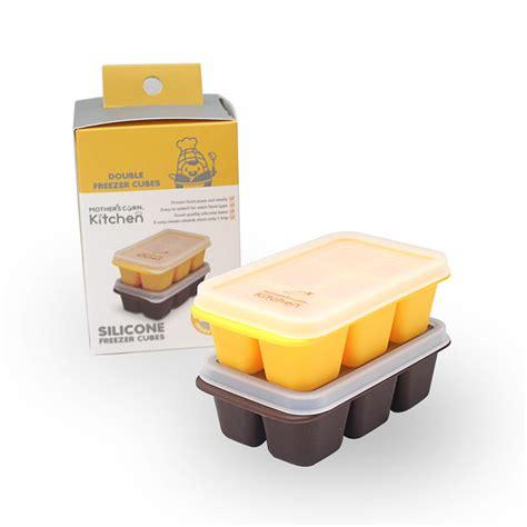 Specialdiskon Mothers Corn Silicon Baby Food Freezer Cubes s corn thailand