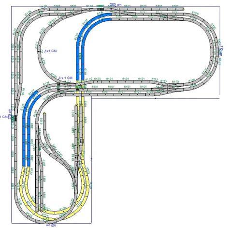 l ontwerpen concept baan l vorm baanplan h0