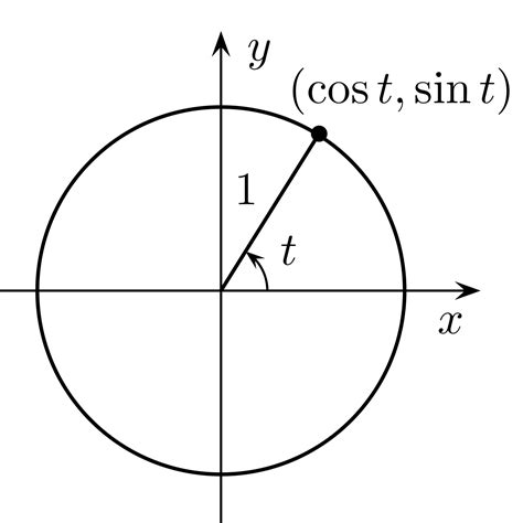 what is in unit unit circle